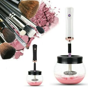 Electric Make up Brush Cleaner Dryer Set Machine Cosmetic Auto Clean Quick Dry