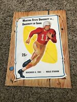 Vintage 1952 Montana Grizzlies vs University Idaho Vandals Football Program