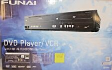 Funai Corp. DV220FX5 Dual Deck DVD and VHS Player with Line-in Recording