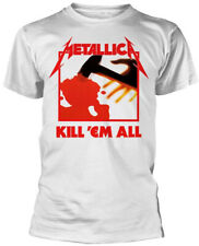 Metallica 'Kill Em All' (White) T-Shirt - NEW & OFFICIAL!