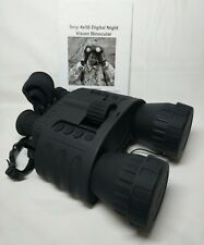 hd digital night vision binocular,  wg80 4x50 surveillance binoculars infrared
