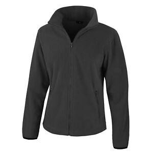 Womens Ladies Fleece Jacket Full Zip Up Warm Classic Micro Fleece Anti Pill Tops