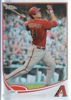 2013 Topps Chrome Baseball Refractor #173 Paul Goldschmidt Arizona Diamondbacks