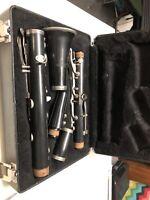 A26 Bundy Selmer Bb Resonite Student Clarinet Vintage W/ Case