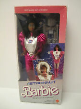 1985 Vintage AA Black Astronaut Barbie NRFB NEW SWEET! Box Flaws GREAT PRICE