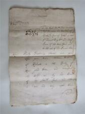 More details for 1719 handwritten legal manuscript, kidbrooke kent, tithes, court of exchequer