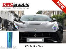 30x100cm Chameleon Deep Blue Car Motorbike Headlight Tail Light Tinting Film PVC
