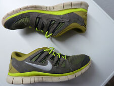 Nike Free 5.0 Ext Gr. 44 / US 10 / 28 cm - Nike # 580530-007 grey yellow white