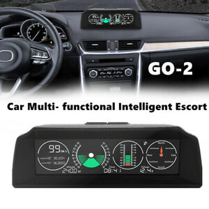 10-30V GPS GO2 Car Electronics GPS Speedometer HUD Display Speed Projector Part