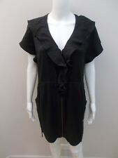 MANNING CARTELL EXPOSED ZIP DRESS WITH POCKETS SIZE 8  (#G1286)