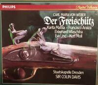 Weber: Der Freischütz  - Sir Colin Davis - Karita Mattila - Philips CD Box Set.
