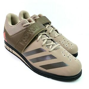 Adidas Powerlift 3.1 Mens Size 13 Tech Beige Weightlifting Lifting Shoes BA8017