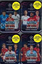 Set Of 4 - 2018-19 Topps UEFA Champions League Soccer Match Attax Game 60ct TINS