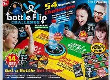 54 Bottle Flip Board Game 14pc Piece Kids Family Xmas Gift Present 2-6 Players