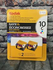 Kodak 10C Color Ink Twin Pack Cartridge 2 x 420 Pages Printer Ink