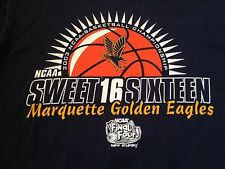 MEN'S VINTAGE 2003 NCAA SWEET SIXTEEN MARQUETTE T SHIRT MEDIUM DWYANE WADE
