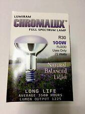 Chromatic 100W Equivalent (R30) Full-Spectrum Flood Lamp 2 Packs