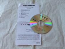 ELVIS PERKINS - ASH WEDNESDAY !!!!!!!!!!ULTRA RARE FRENCH PROMO CD
