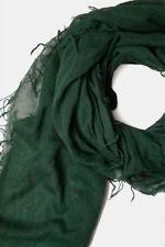 Chan Luu Cashmere & Silk Scarf Wrap Solid TREKKING GREEN BRH-SC-140