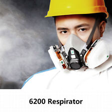 7in1 mask Suit half Face For 3M 6200 Gas Spray Painting Protection Respirator US