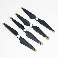 4 pcs dji phantom 4/4 pro composite propellers 45% carbone + 55% plastique lames