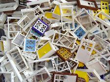Lego Friends / City Windows/Door Pack - 2 Doors & 8 Windows  Colours will Vary