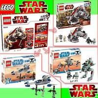 NEU LEGO Star Wars 66341 3er Super Pack 8091 8014 8015