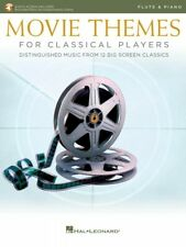 Movie Themes for Classical Players Flute and Piano Book and Audio 000284608
