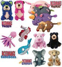 KONG Dog Puppy Toys Plush Squeaky Dogs Toy Phatz Cuteseas Kiddos Huggz Cruncheez