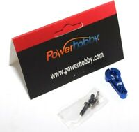 New Powerhobby 25T Aluminum Servo Horn Blue : Savox 1256tg 1283sg 1252mg