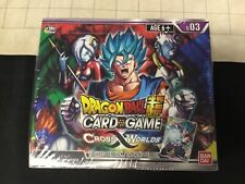 Dragon Ball Super Cross Worlds Booster Box B 03 Factory Sealed