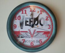 Veedol Motor Oil reproduction 8 inch wall clock