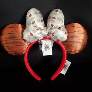 2021 Disney Parks Epcot Food & Wine Festival Minnie Orchard Ears Headband NEW