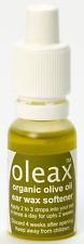 Oleax Extra Vierge Organique Huile d'Olive Cire D'oreille adoucisseur 15 ml-aucu...
