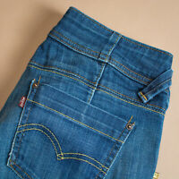 Vintage Levi Jeans Twisted Engineered Blue Zip Fly Men's (PatchW30L34) W 30 L 32
