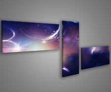 Quadri moderni astratti 180 x 70 stampe su tela canvas con telaio MIX-S_132