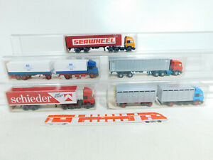 BX319-0,5 #5x wiking 1:87/H0 Camion Iveco: 474+523+540 / 1+ 565, Mint + Box