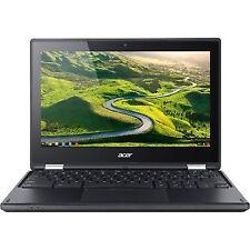 "Acer Chromebook R11 11.6"" (32 GB, Intel Celeron N, 1.60 GHz, 4 GB) Chromebook - White - NX.G54AA.002"