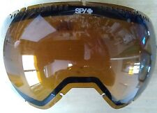 Spy Platoon Replacement Snow Goggle Lens Yellow w Lt Black Mirror Incl Pouch