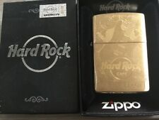 ZIPPO BRASS HARD ROCK CAFE MYRTLE BEACH