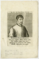 Antique Print-FRANCISCUS MODI-POET-BRUGES-Galle-ca. 1580-90