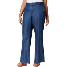 13ee88b1ddc Melissa McCarthy Seven7 8968 Lightweight Flare Womens Jeans 14w