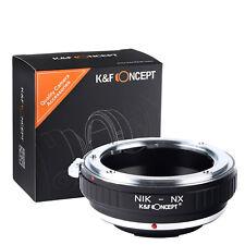 K&F Concept Lens Adapter Ring for Nikon AI to Samsung NX Lens Camera Body AI-NX