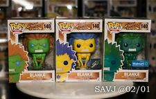 Funko Pop! Games Street Fighter Blanka Lot #140 #140 [Think Geek] #140 [Walmart]