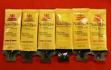 The Naked Bee 6 Sample Size Moisturizing Hand Body Lotions OBH GBH C&H NC J&H CT