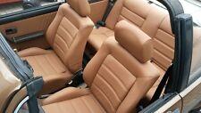 VW Golf 1 Cabrio beige en cuir synthétique housses pour l'aménagement intérieur voir photo A