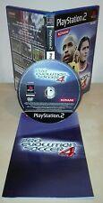 PRO EVOLUTION SOCCER 4 ps2 gioco game  completo pes 4 konami Sony PlayStation