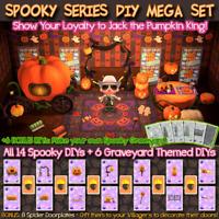 Animal Crossings | Spooky Series MEGA Set | 18 DIYs | Pumpkins + Candy | Horizon