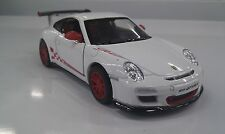 2010 Porsche 911 GT3 RS white kinsmart TOY model 1/36 scale diecast Car