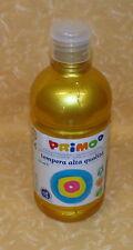 COLORE A TEMPERA PRIMO Alta Qualità 920 ORO 500 ml cod.18481